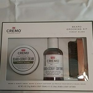 Creme beard grooming kit